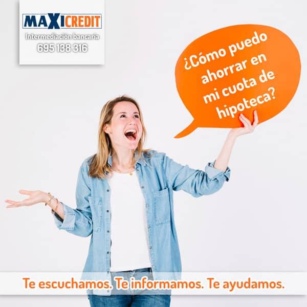 Hipoteca Vip ASesoria Financiera Málaga Maxicredit